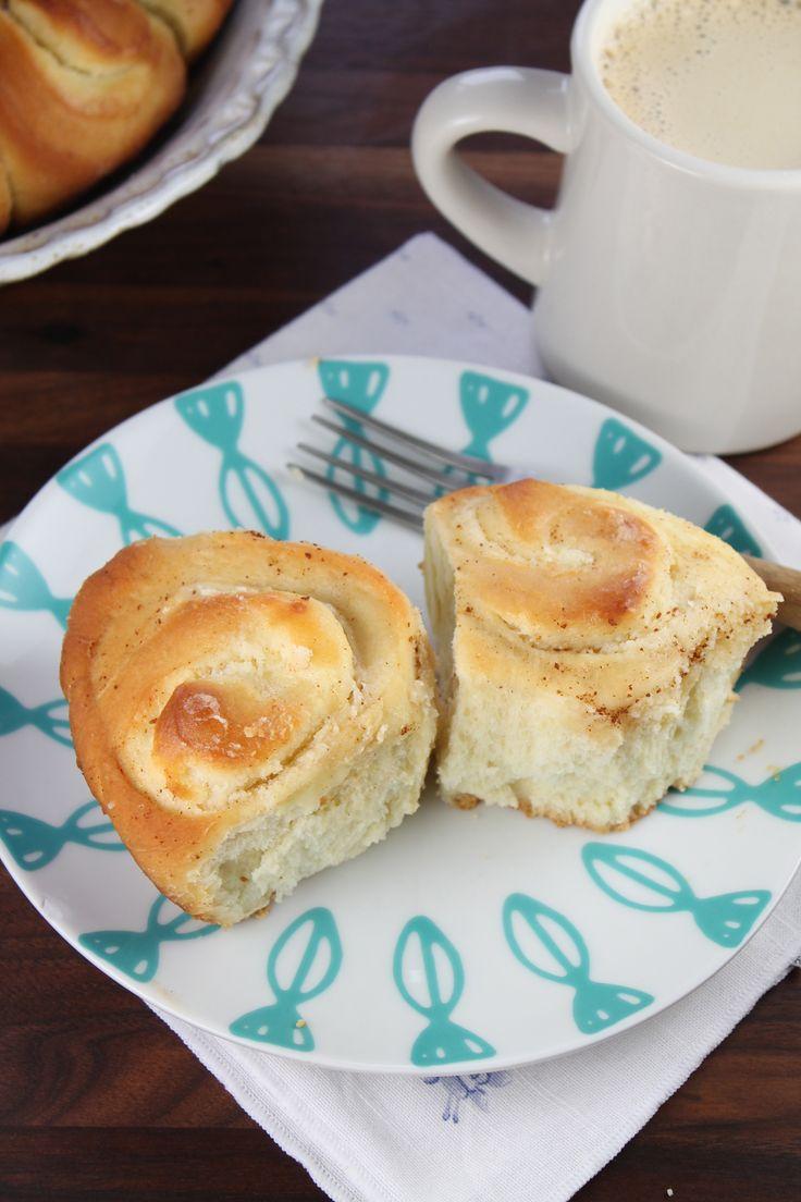 Cream Cheese Filled Brioche Sweet Rolls  #BakingTheWorldBetter