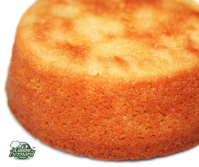 """Suprème des volcans. Gâteau sans farine du site """"La cuisine de Bernard"""""""