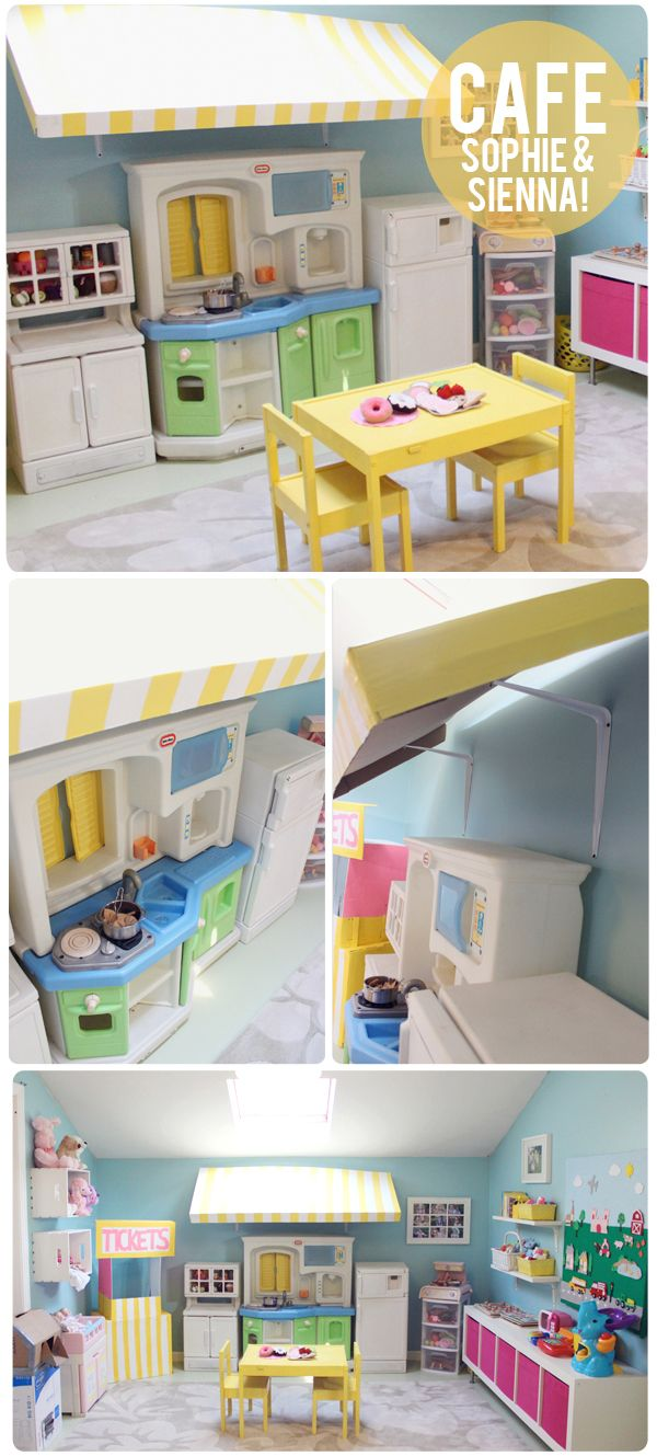 how to make a playroom on a budget