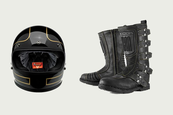EQUIPMENT: The new Bike EXIF motorcycle gear store. Featuring the coolest helmets from Biltwell and Icon 1000's superb Elsinore boots.