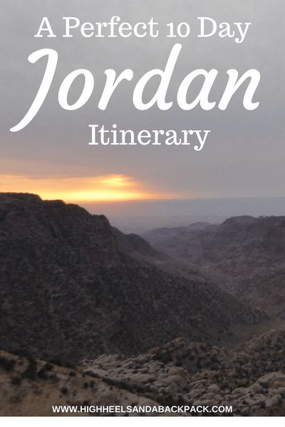 10 Day Jordan Itinerary - A solo traveller's itinerary that helps you see the very best of the culture, history, and nature that Jordan has to offer.