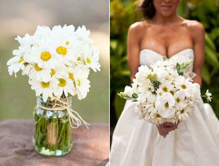 wedding flowers daisies