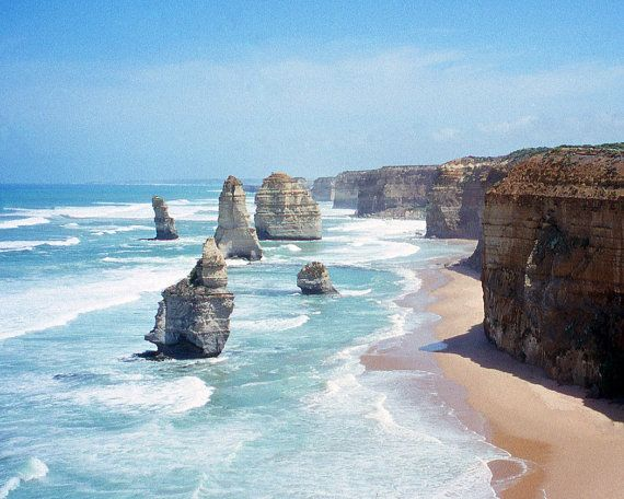 Twelve Apostles Fine Art Photography Wall by ArtistWithTheCamera