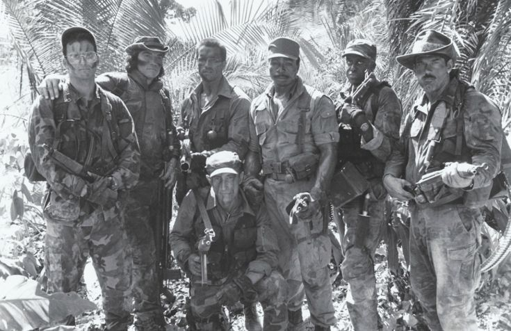 Cast of PREDATOR (1987)