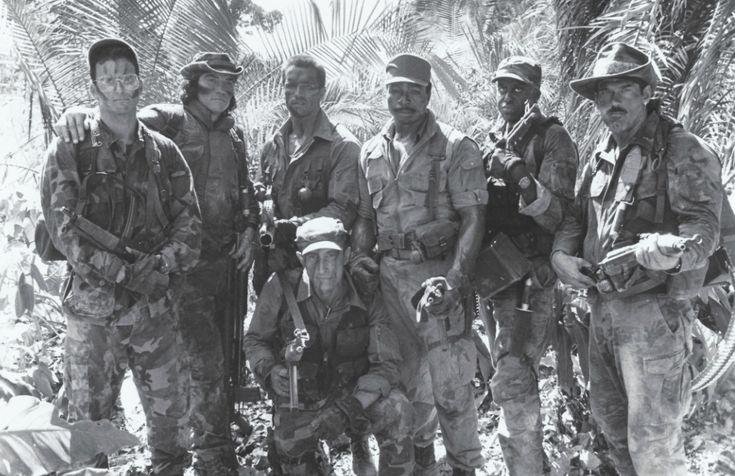 Cast of PREDATOR (1987)