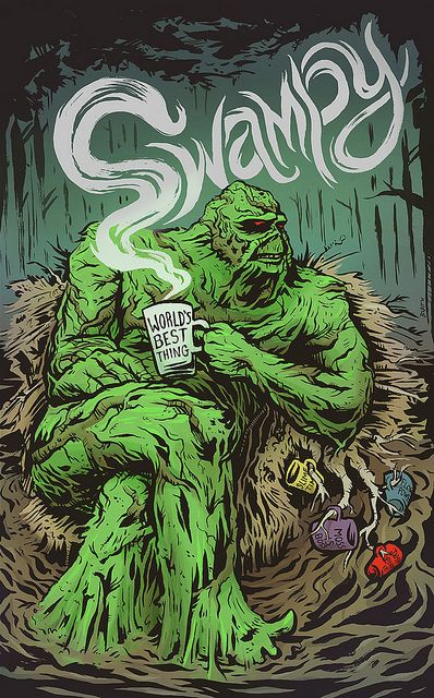 Swamp Thing by Burton Durand #swampthing #dccomics #comic