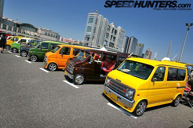 And The Same With US Vans On Kei Cars Like Suzuki Wagon R