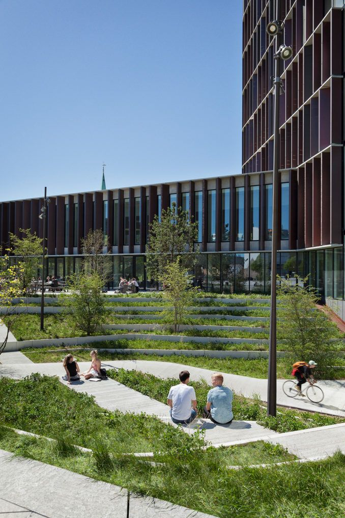 Sund Nature Park Urban Landscape Design Park Landscape City Parks Design