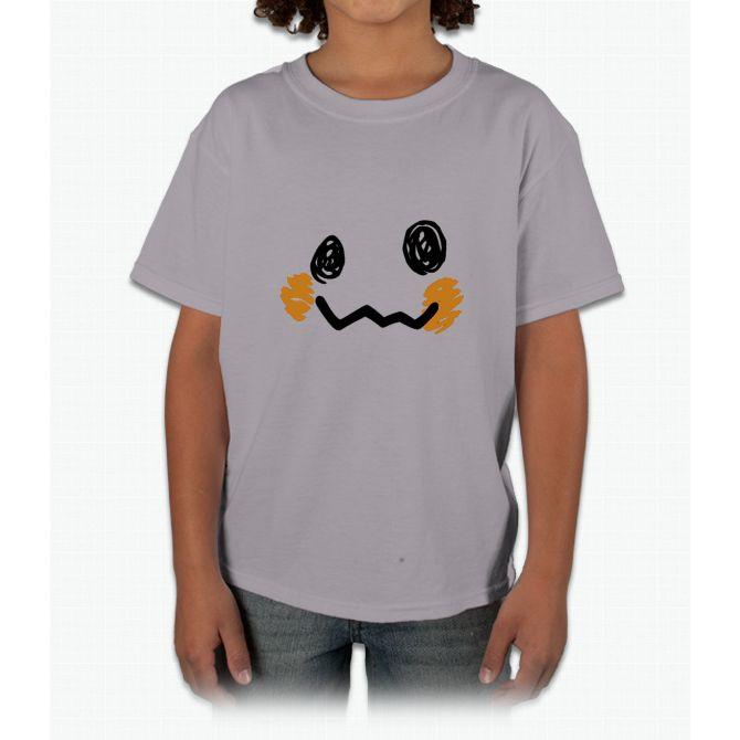 Mimikyu Face - Pokemon Young T-Shirt