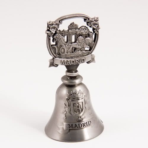 Decorative Bell: Spain. Madrid Attractions