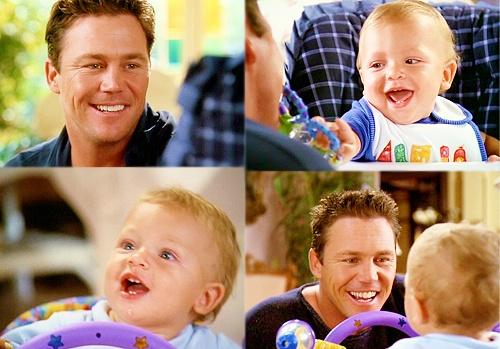 Leo & Wyatt ... Love this baby !