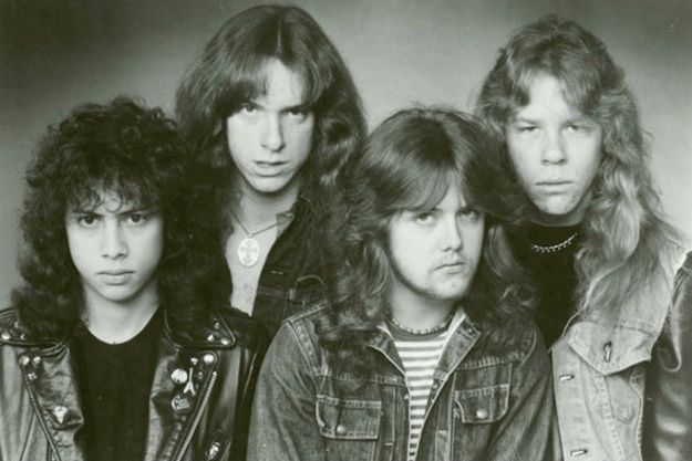 Metallica before the death of Cliff Burton. Lou Reed wouldn't have gone anywhere near these guys in the 80's.