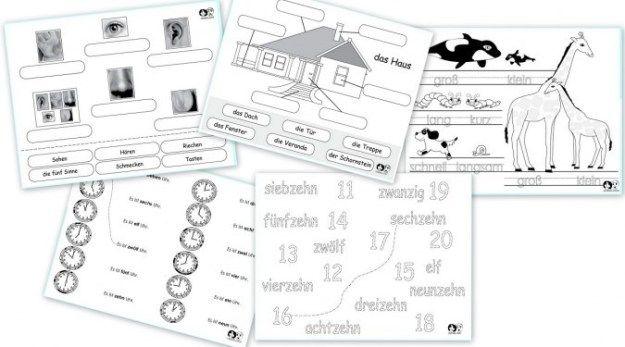 51 Free German Worksheets In 2020 German Study Worksheets For Kids Learning Worksheets