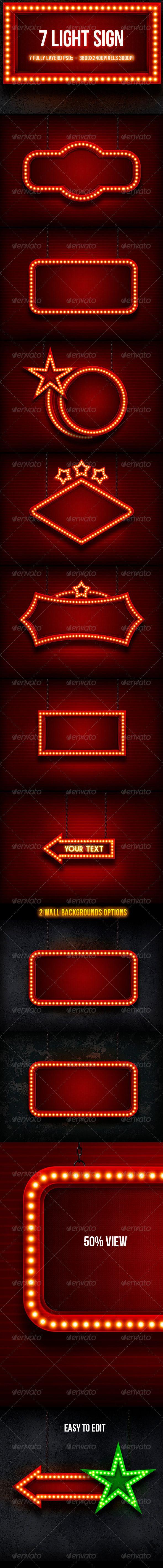 Light Sign - Backgro...