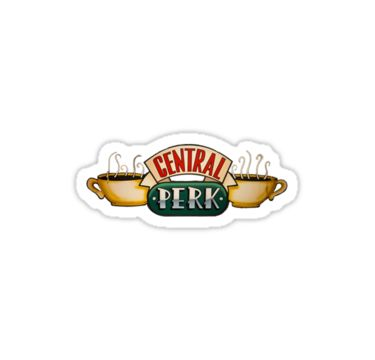 """""""Central Perk"""" Stickers by rhg26 