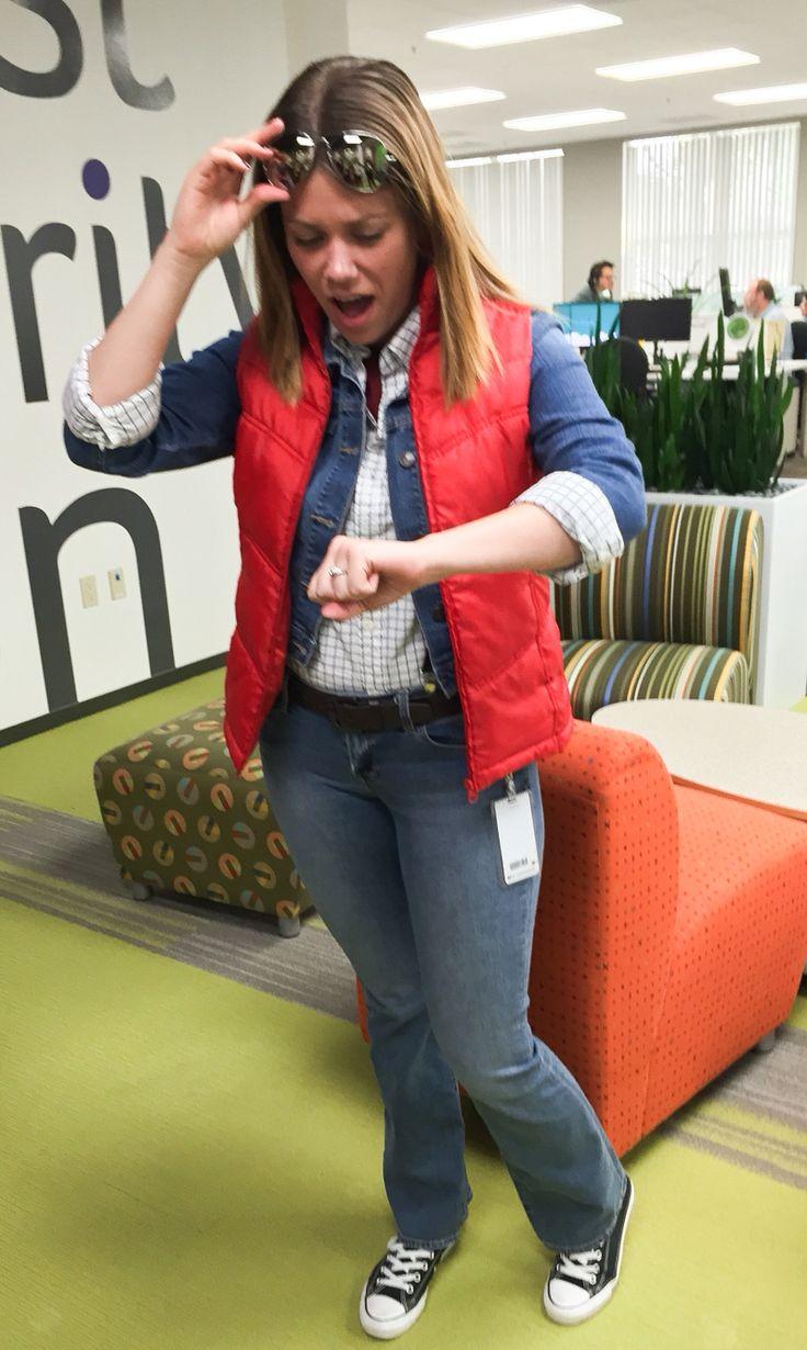 Female/Girl Marty McFly costume - Back to the Future #halloween #halloweencostume #martymcfly
