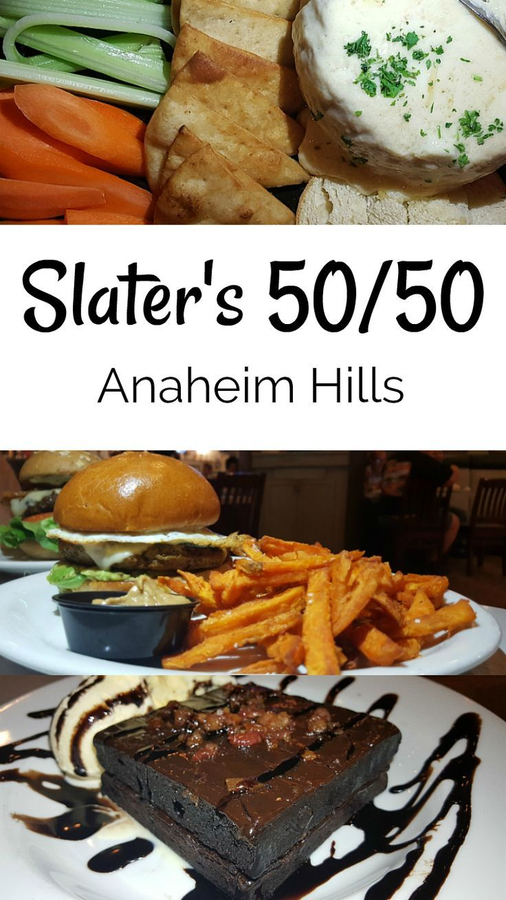 Slaters Anaheim Hills Slater S 5050 Restaurant Orange County Culinary Travel Travel Food