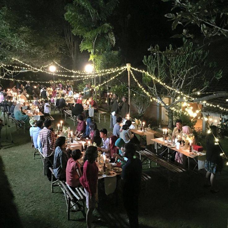 Menikah dengan Suasana Alam ala Asri dan Andhika - secret dining 5