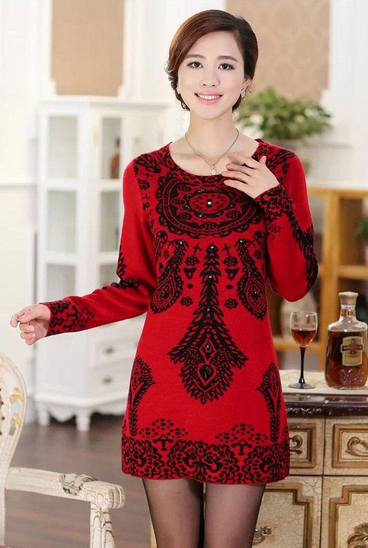 Новая мода леди трикотаж кашемировые свитера Корейских Женщин Длинные Свободные Свитера Пуловеры женские Трикотажные Свитера женщин К Зиме купить на AliExpress