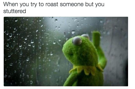 On blowin' it: | 16 Times Kermit The Frog Was A Goddamn Gift To The Internet