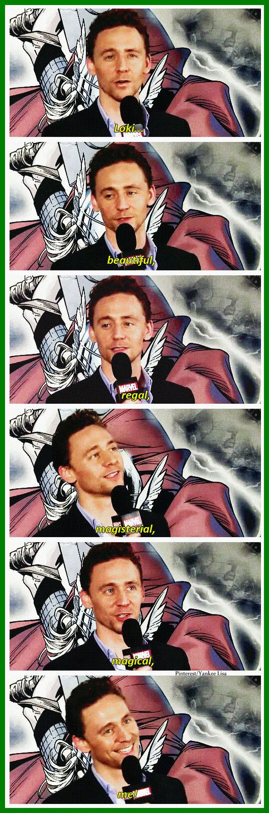 Marvel:The Avengers - Thor: The Dark World - Loki - Tom Hiddleston