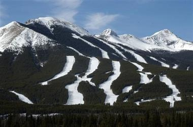 Nakiska Ski Hill - Calgarys closest ski hill, and a 5 minute drive from The Delta Lodge at Kananaskis.