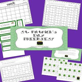 The Kindergarten Pod: St. Patrick's Day FREEBIE