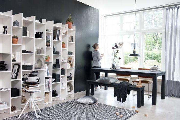 Karwei fijn een vakkenkast die je oneindig kunt uitbreiden wooninspiratie karwei - Ontwikkel een grote woonkamer ...