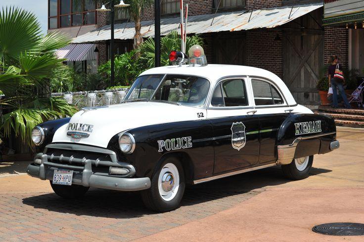 Old police car in Kemah