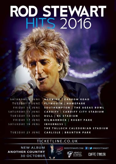 TOURS - Rod Stewart Fan Club
