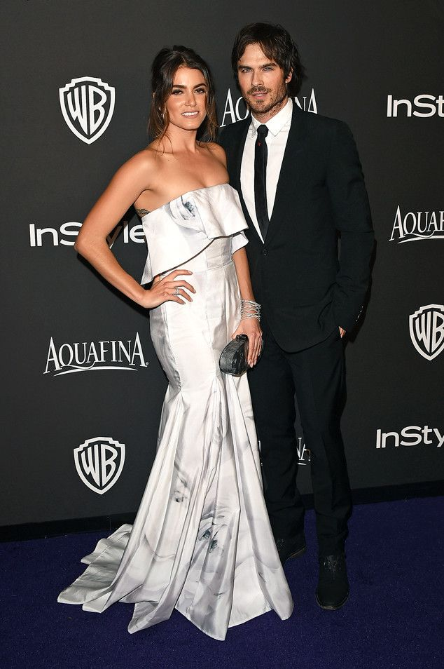Nikki Reed and Ian Somerhalder are engaged! Congrats you two:)