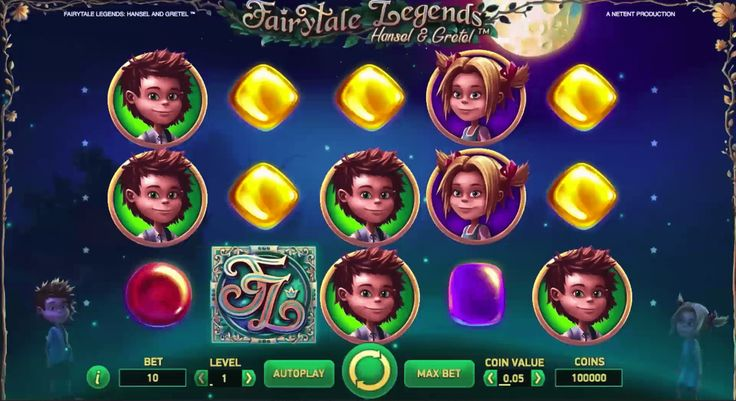 Hansel & Gretel from Rags to Riches Slot - Play for Free Now