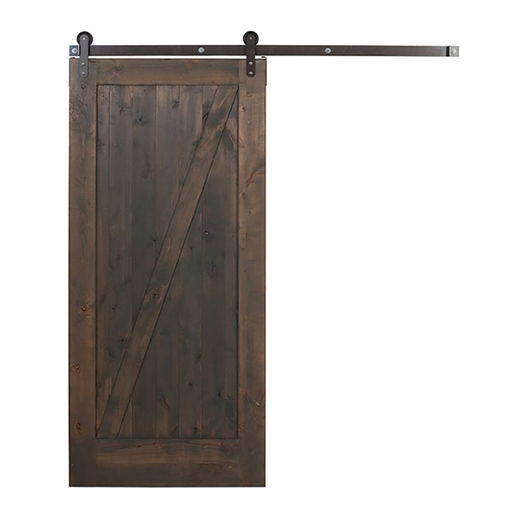 Ironwood Gray Z Frame Knotty Alder Barn Interior Door  42 in x 84. 1000  fikir  Barn Doors Lowes Pinterest te