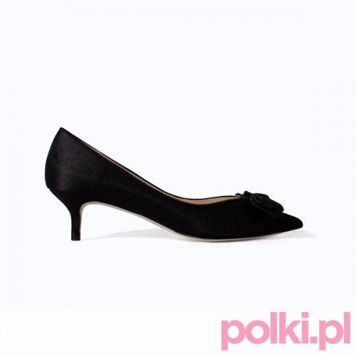 Czarne szpilki, Zara #buty #szpilki #shoes