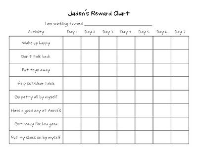 190 best Reward Charts! images on Pinterest Rewards chart, Charts - blank sticker chart