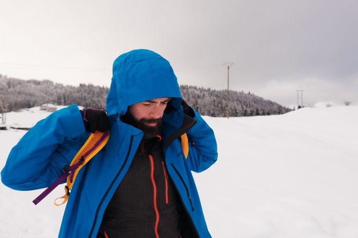 Veste #Patagonia Snowshot JKT idéal en 3eme couche pour les #sports d'hiver