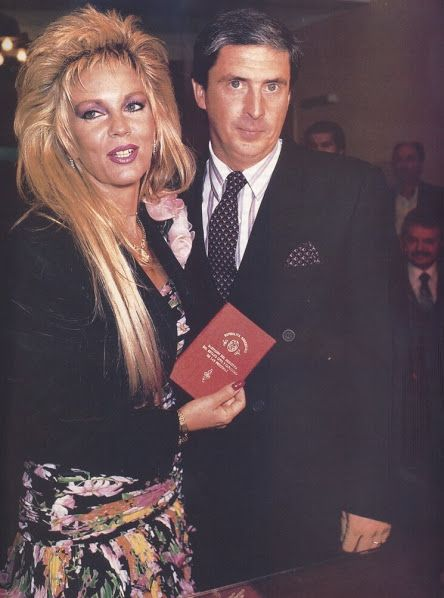 Argentina Retro 1988 Casamiento De Graciela Alfano Con