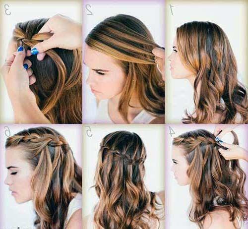 Conheça e aprenda 25 penteados lindos para cabelos médios e fique linda sem ter muito trabalho, pois sao todos muito simples! http://salaovirtual.org/penteado-cabelo-medio/ #penteados #cabelosmedios #salaovirtual
