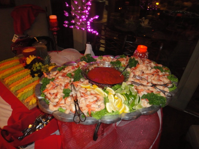 Shrimp Cocktail Display With Images Party Food And