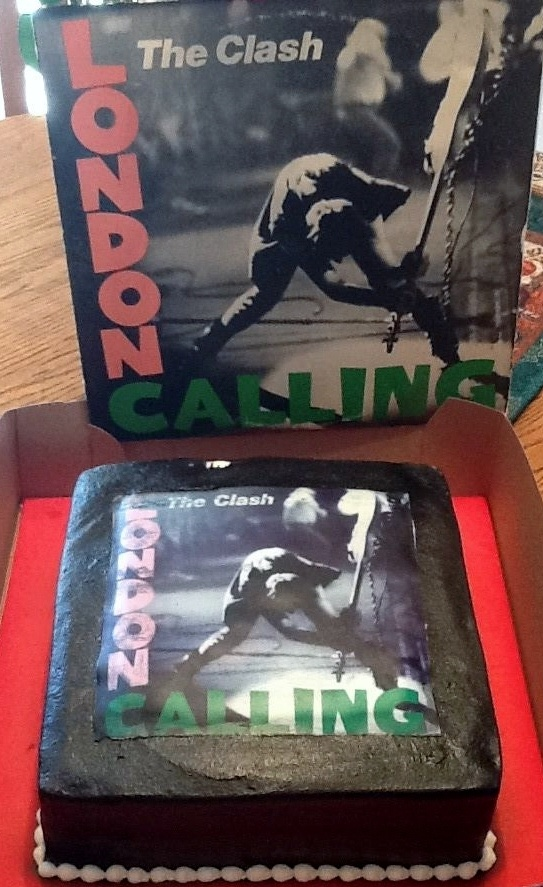 Pastel The Clash - London Calling