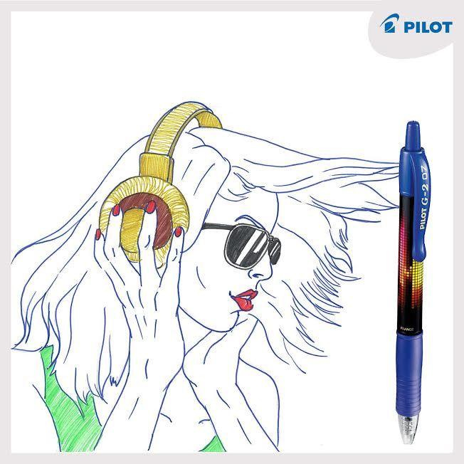 Máš styl a rád se bavíš? Miluješ plynulé psaní, barvy a neokoukaný #design? Tak to je pro tebe pero #G2 #Buzz jako dělané :) #happywriting