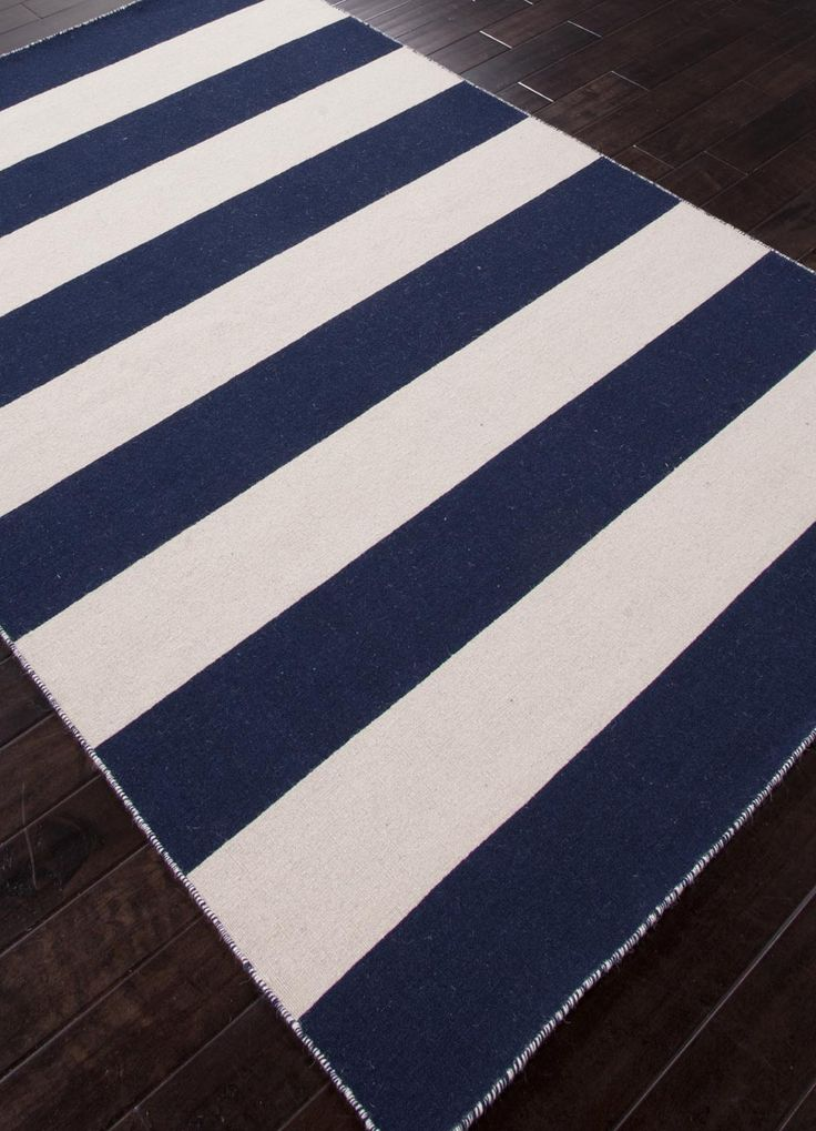 Tierra Collection from Jaipur  Dark Blue and White Ice