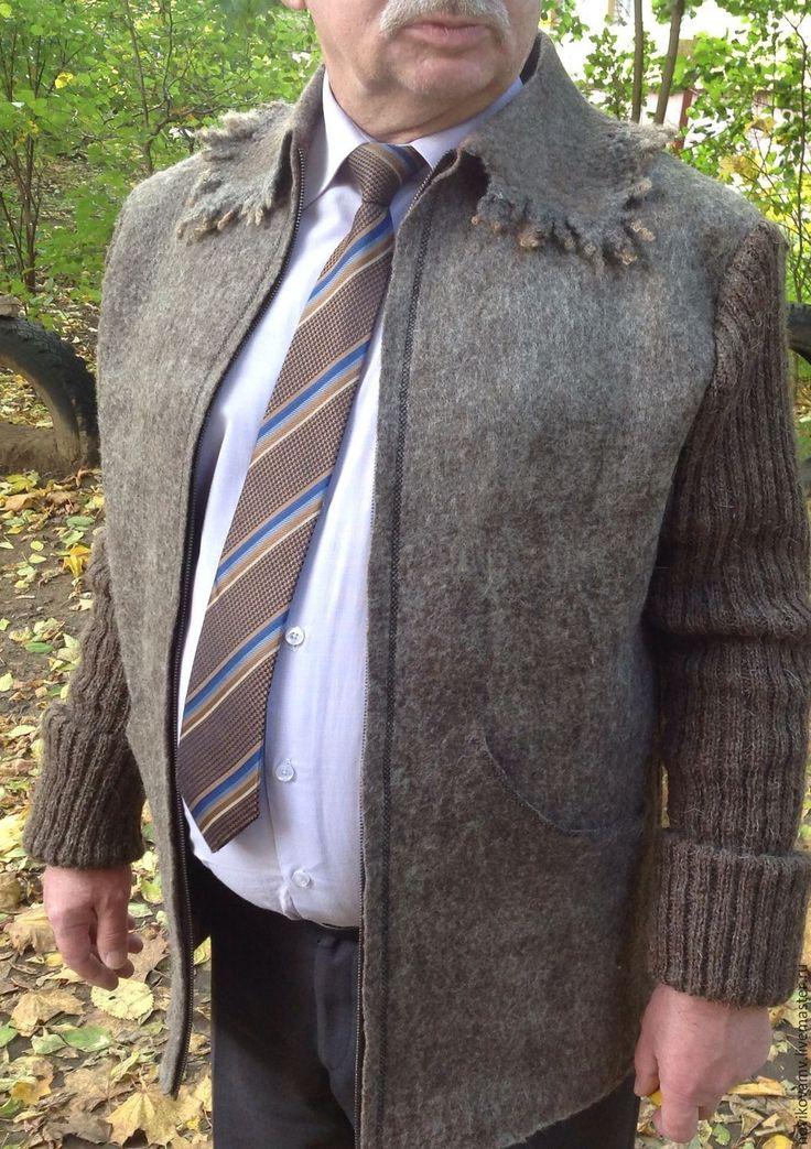 Купить Жакет мужской Country - серый, жакет мужской, куртка на молнии, куртка мужская