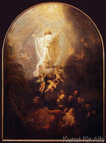 Harmensz van Rijn Rembrandt - The Ascension of Christ