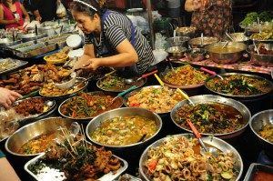 Street food in Chiang Mai, Thailand by Kevin Chan