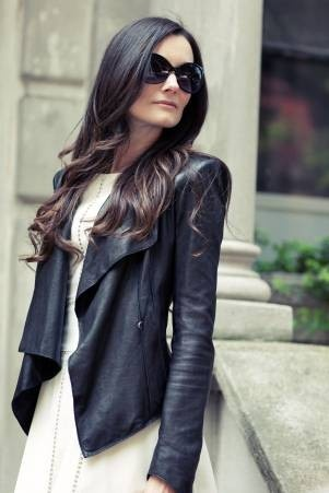 Loving this Helmut Lang jacket on Style on the Couch - Click image to find more Women's Fashion Pinterest pins