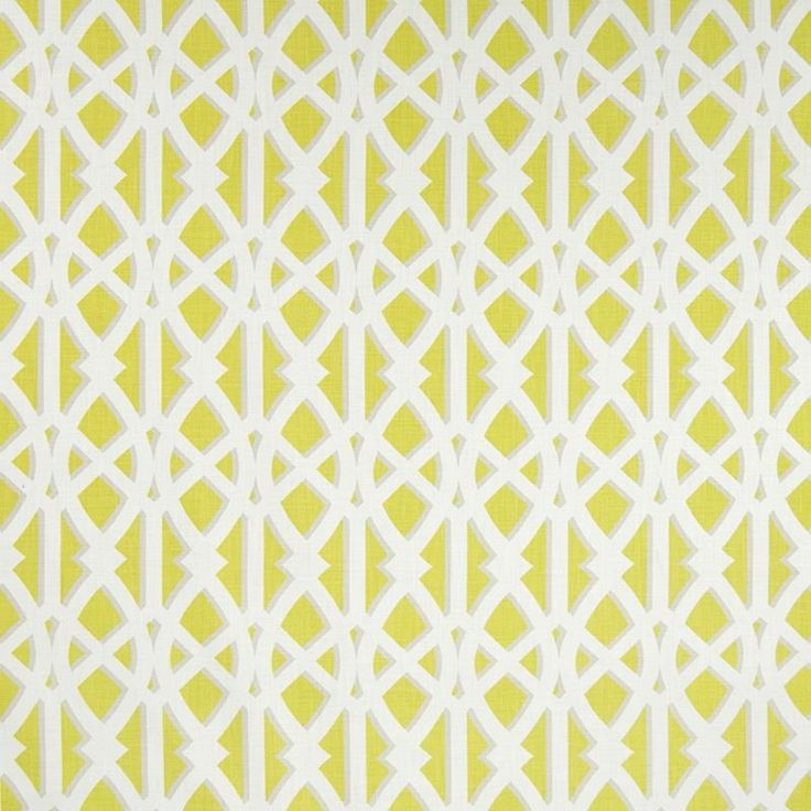 Warwick Fabrics : KENJI, Colour CHARTREUSE