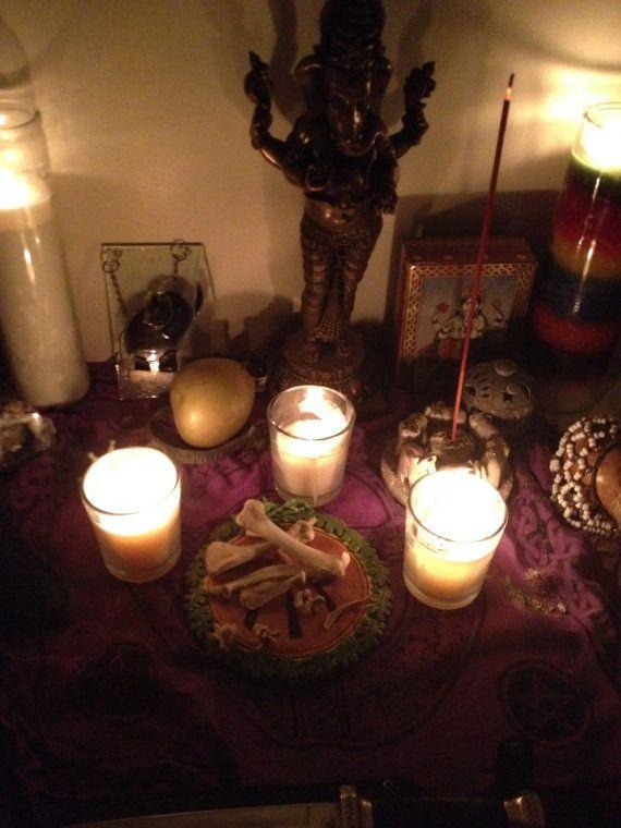 Voodoo Magic Chicken Bones for Divination by MedusasMagicShop