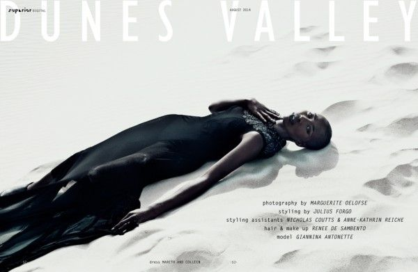 DUNES VALLEY - Fashion Editorial by Marguerite Oelofse