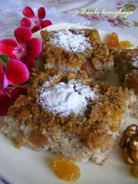 Barbi konyhája: Köleskoch, az egészséges édesség